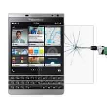 Voor BlackBerry Passport zilveren editie 0 26 mm 9H oppervlaktehardheid 2.5D explosieveilige gehard glas Screen Film