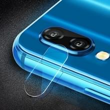 0.3mm 2.5D transparante achterkant Camera Lens Protector getemperd glas Film voor Galaxy M10