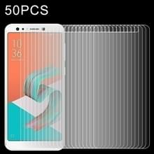 50 stuks voor Asus Zenfone 5 Lite ZC600KL 0 26 mm 9H oppervlaktehardheid 2.5D explosieveilige getemperd glas scherm Film  geen retailpakket