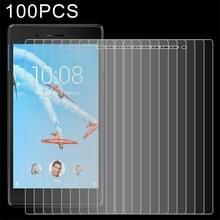 100 stuks 0.3mm 9H volledig scherm getemperd glas Film voor Lenovo Tab 7 / 4 TB-7504 Tab