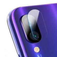 0.3 mm 2.5 D transparante achterzijde camera lens Protector getemperd glas film voor Xiaomi Redmi opmerking 7 Pro