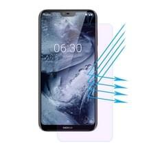 ENKAY Hat-Prins 0 26 mm 9H 2.5D Anti Blue-ray getemperd glas Film voor Nokia X6