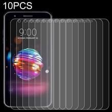 10 stuks 0.26 mm 9H 2.5 D gehard glas film voor LG K11 plus