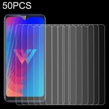 50 stuks 0.26 mm 9H 2.5 D gehard glas film voor LG B30  geen retail pakket