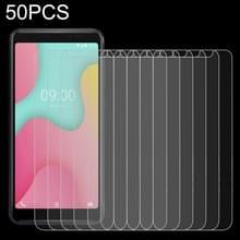 50 stuks 0.26 mm 9H 2.5 D gehard glas film voor Wiko Y60  geen retail pakket
