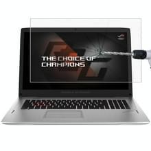 Laptop scherm HD getemperd glas beschermfolie voor de ASUS ROG GL702VM (7e generatie Intel Core) 17.3 inch
