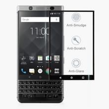0.3 mm 9H oppervlakte hardheid 2.5 D Silk-Screen Full Screen gehard glas film voor BlackBerry KEY2 (zwart)