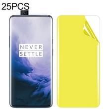 25 stuks voor OnePlus 7 Pro Soft TPU volledige dekking front Screen Protector