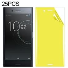 25 stuks voor Sony Xperia XZ Premium Soft TPU volledige dekking front Screen Protector