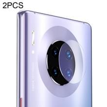 2 stuks Benks Full gehard glas Achteruitrij camera lens beschermende film voor Huawei mate 30