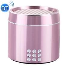 Draagbare ware draadloze Stereo Mini Bluetooth Speaker met LED Indicator & slinger voor iPhone  Samsung  HTC  Sony en andere Smartphones (roze)