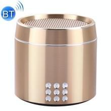 Draagbare ware draadloze Stereo Mini Bluetooth Speaker met LED Indicator & slinger voor iPhone  Samsung  HTC  Sony en andere Smartphones (goud)