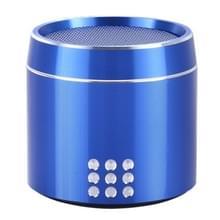 Draagbare ware draadloze Stereo Mini Bluetooth Speaker met LED Indicator & slinger voor iPhone  Samsung  HTC  Sony en andere Smartphones (blauw)