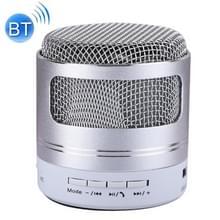 Draagbare Mini Bluetooth Speaker  ingebouwde microfoon voor iPhone  Samsung  HTC  Sony en andere Smartphones (zilver)