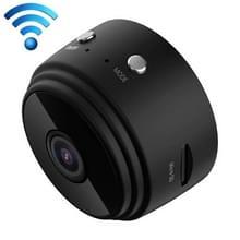 A9 1080P WiFi IP actie Camera Mini DV  de opsporing van de motie van de steun & infrarood nacht Vision(Black)