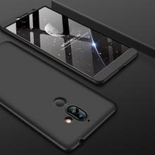GKK PC 360 graden volledige behuizing voor Nokia 7 Plus(Black)