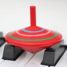 Ouder-kind DIY puzzel speelgoed Mini houten roterende Gyro  grootte: 6 * 6cm