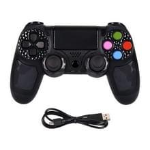 Draadloze Bluetooth-game controller handvat dubbele trilling met Touch functie & spreker & licht voor PS 4