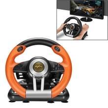 PXN-V3 Racing spel Steering Wheel voor de PC / PS3 / 4 / xbox een / schakelaar (oranje)