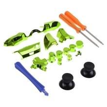 Volledige set spelbesturing handvat kleine fittingen met schroevendraaier voor Xbox One ELITE (groen)