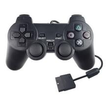 Double Vibration Joypad Bedrade Game Controle Handle voor PS2