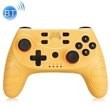 Voor Switch Pro Wireless Bluetooth GamePad Game Handle Controller (geel)