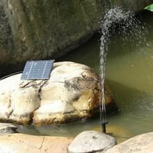 Kwadraat fontein zonne-energie aangedreven waterpomp