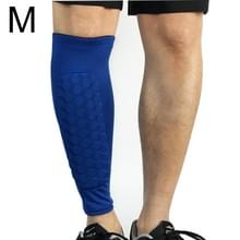 Voetbal anti-botsing leggings outdoor basketbal paardrijden alpinisme enkel beschermen kalf sokken Gear Protector  maat: M