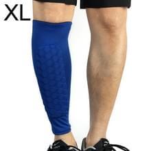 Voetbal anti-botsing leggings outdoor basketbal paardrijden alpinisme enkel beschermen kalf sokken Gear Protector  maat: XL