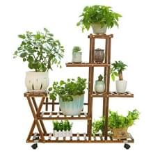 Houten Plant bloem Display Stand houten Pot plank opslag Rack