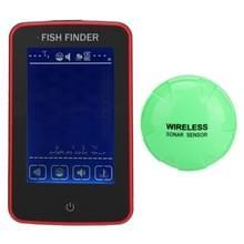 Draagbare waterdichte draadloze kleur touch scherm vissen apparaat Fish Finder