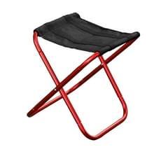Buiten Portable Folding Stool  grootte: 25*22*26cm(Red)