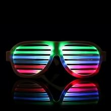 LED-CM03 LED Musical Shades Sound & Music Active LED Party Glasses met USB Charger