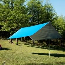 Multifunctionele buitenwater dichte zonnebrandcrème strand luifel tent zon Shelter Pergola (blauw)
