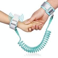Happywalk Kids veiligheid anti verloren pols link tractie kabel met inductie Lock  lengte: 2m (mint groen)