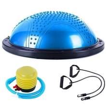 Explosieveilige yoga Ball sport fitness bal balans bal met massage punt  diameter: 60cm (blauw)