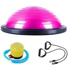 Explosiebestendige yoga bal sport fitness bal balans bal  diameter: 60cm (roze)