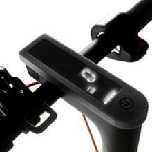 Elektrische scooter printplaat instrument silicone waterdichte beschermende case voor Xiaomi Mijia M365/M365 Pro (zwart)