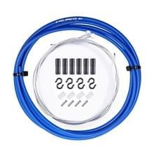 7 in 1 Cilindrische Kop PVC Remkabelset voor mountainbike (blauw)