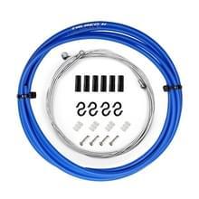 7 in 1 Mushroom Head PVC Brake Cable Tube Set voor Race Bike (Blauw)