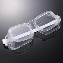 15 PC's / Box Clear Vented Safety Goggles Eye Protection Soft Edge Zand-proof kleine windspiegel set  L
