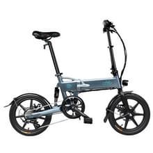 [EU-opslagplaats] Fiido D2S 250W Drietraps 16 inch 36V 7.8Ah opvouwbare elektrische fietsscooter(grijs)