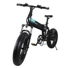 [EU-opslagplaats] Fiido M1 12.5Ah 250W Drie-speed variabele snelheid 20 inch Spaakwiel opvouwbare elektrische fiets  kraken snelheid tot 30km/h (Zwart)
