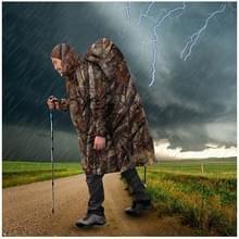 3 in 1 buiten draagbare multifunctionele Camouflage rugzak regenjas