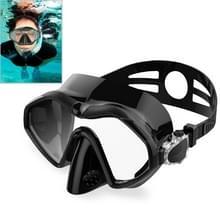 DM800 silica gel duiken masker Zwemmen goggles duikuitrusting voor volwassenen (zwart)