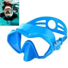 DM800 silicagel DUIKMASKER zwembrillen duikuitrusting voor volwassenen (blauw)