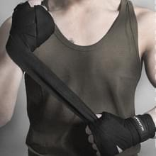 BONSEM Training Boksen Bandage voor volwassenen  Grootte: 2 5 m (Zwart)