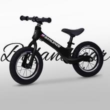 Magnesium legering kinderen balans fiets zonder pedaal driewielige Slide Peuter Fiets (Zwart)