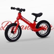 Magnesium legering kinderen balans fiets zonder pedaal driewielige Slide Peuter Fiets (Rood)
