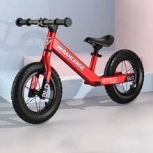 Aluminium legering geïntegreerde lichaam kinderen balans fiets zonder pedaal driewielige Slide Peuter Fiets (Rood)